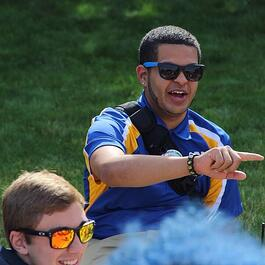 Campus Tour Guide Spotlight - Brandon Reyes